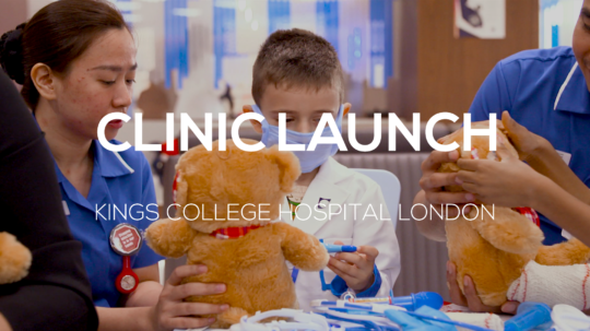Clinic Launch – Kings College Hospital London