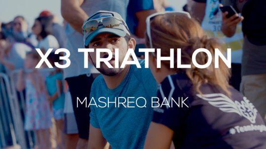 X3 Junior Triathlon – Mashreq & Team Angel Wolf